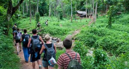 Trekking Mea Teang 2 days to have unforgetable experiences