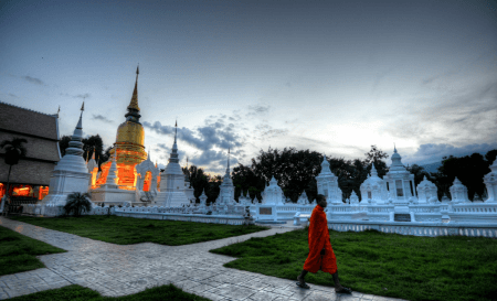 """Wat Suan Dok - one of the most """"must-see"""" destination in Chiang Mai"""