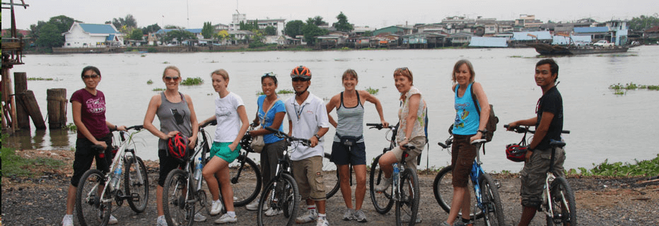Discover Thailand by cycling